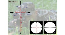 Оптический прицел March 3-24x42 FFP 30mm (FML-1) illuminated Reticle # D24V42FIML