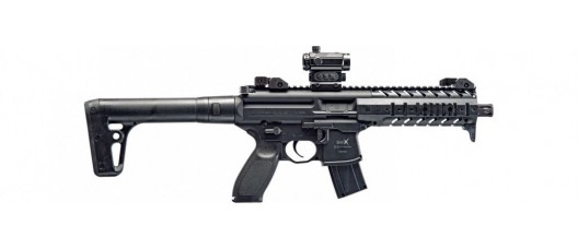 Винтовка пневматическая SIG Sauer MPX 4.5 мм. MPX-177-BLK-R