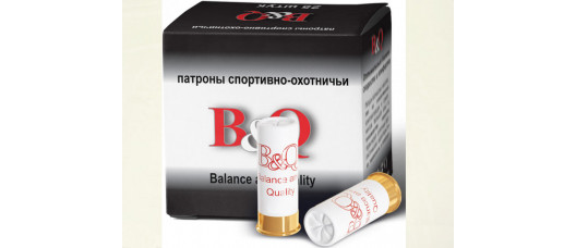 Глад.патроны B&Q Sporting 12/70 №7,5 23г