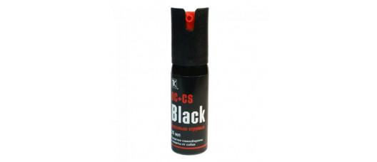 Баллон газ Black 25мл (OC+CS) футляр/черный