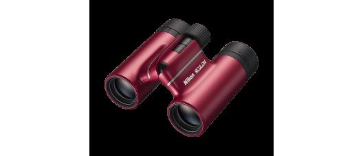 Бинокль Nikon Aculon 8x21 T02 красный