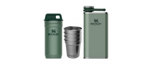 Набор стопок+фляга Stanley Adventure 0,59мл+0,23л зеленый