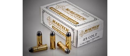 Нар.патроны Magtech .45Colt LFlat 250g