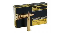 Патроны Sako 7mm RemMag SP Hammerhead 11g/170gr