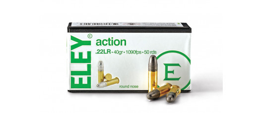 Нар.патроны ELEY .22LR Action Plus