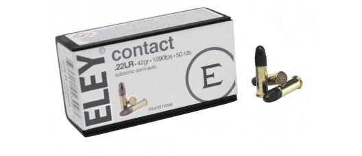 Нар.патроны ELEY .22LR Contact