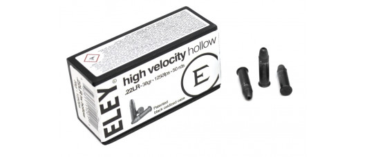 Нар.патроны ELEY .22LR Subsonic Hollow
