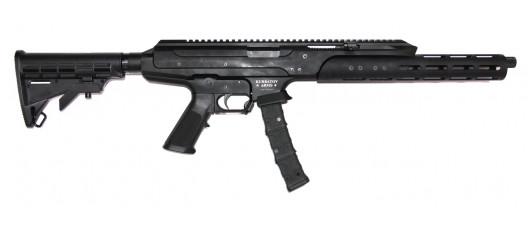 Kurbatov Arms мод. R-701, кал. 9x19 + цевье (диаметр 45мм) + мех. затв. задержка на левую/правую сторону