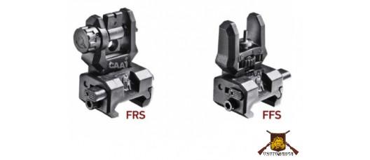 Мушка и целик складные FRS+FFS/01