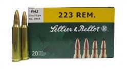 Нар.патроны S&B .223Rem FMJ Target 3,6g