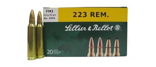 S&B .223Rem FMJ Target 3,6g
