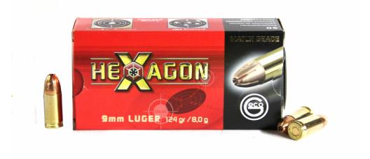 Geco 9x19 Para Hexagon 124gr