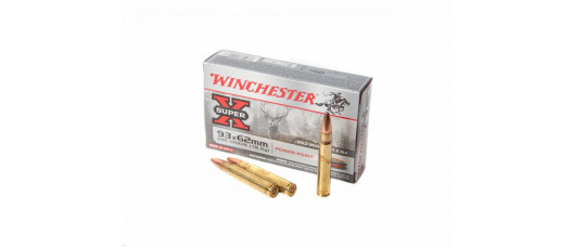 Winchester 9,3x62 Sup-X Power Point 286gr