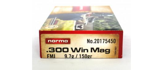 Norma .300WinMag FMJ Jaktmatch 150gr 9,7g