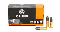 Патроны RWS .22LR Club