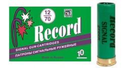 патрон 12/70 сигнальные зеленый (Рекорд)