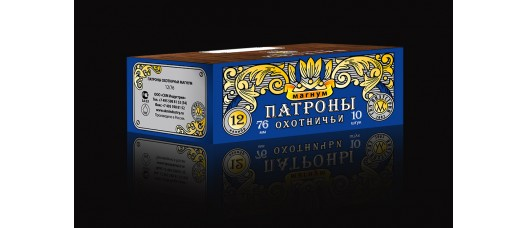 Патроны СКМ 12/76 пуля Шеддит 43 гр
