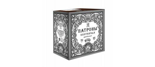 Патроны СКМ Русь 12/70 №00 б/к 33гр