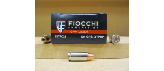 Патроны Fiocchi 9mm Luger HPXTP 124gr