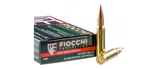 Fiocchi .308Win FMJ BT 150gr 9,7g