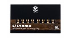 Fiocchi 6,5 Creedmoor HPBT 140gr 9,1g