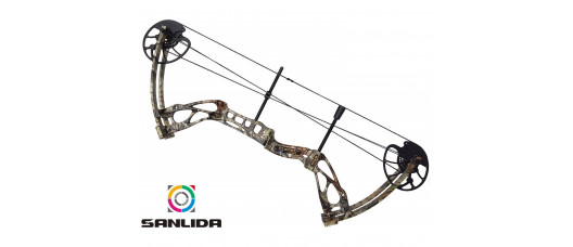 Лук блочный Sanlida Dragon X8 камо kit