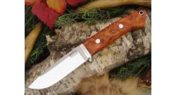 Нож Bark River Drop Point Hunter Amboynia Burl