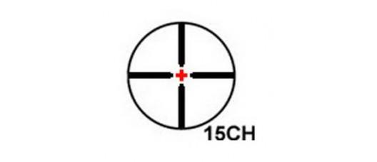EPOCH ONE 1-6x24 R:15CH - сетка крест и подсветка крестик в центре