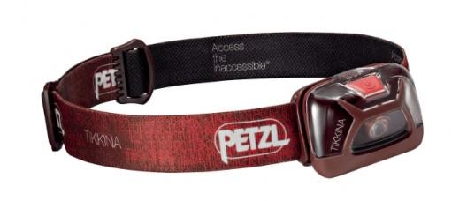 Фонарь налобный Petzl Tikkina (красный)