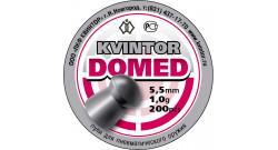 "Пуля пневм. ""Kvintor Domed"" (200 шт.) 1,0гр 5.5мм"