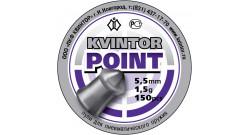 "Пуля пневм. ""Kvintor Point"" (150 шт.) 1,5гр 5.5мм"