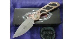 Нож складной Microtech Tan Doc Killswitch 154-10AP