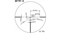 Оптический прицел March 1-10x24 illuminated MTR-4 Reticle # D10V24TI