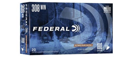 Federal .308Win Power Shok SP 180gr 11,7g