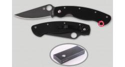 Нож складной Spyderco Military Black 36GPBK