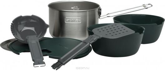 Набор посуды Stanley Cook 1,5л стальной