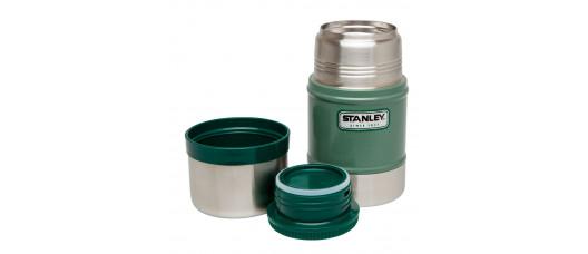 Термос Stanley Classic Vacuum Food Jar 0.5л темно-зеленый