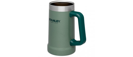 Кружка пивная Stanley Adventure 0,7л зеленая